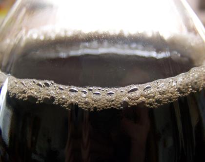 Cola light in der Flasche